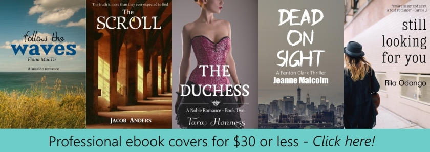 Pre-made eBook covers for $30 or less