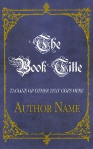 Fantasy or historical pre-made eBook cover