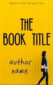Fiction pre-made eBook cover