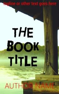 Thriller or horror eBook pre-made cover