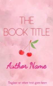 Romance or fiction pre-made eBook cover
