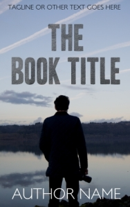 Crime or thriller pre-made indie eBook cover