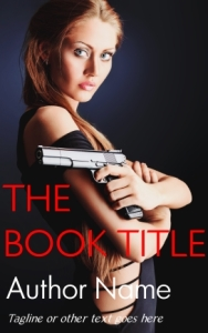 Thriller or crime pre-made indie eBook cover