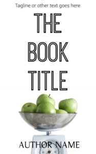 Non-fiction or health pre-made indie eBook cover
