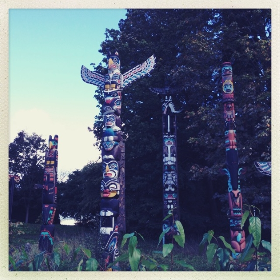 Photo of Totem Park in Stanley Park, Vancouver